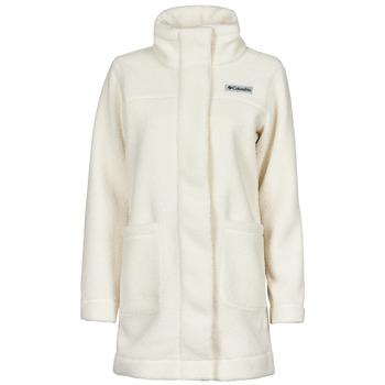 Oblečenie Ženy Kabáty Columbia PANORAMA LONG JACKET Biela