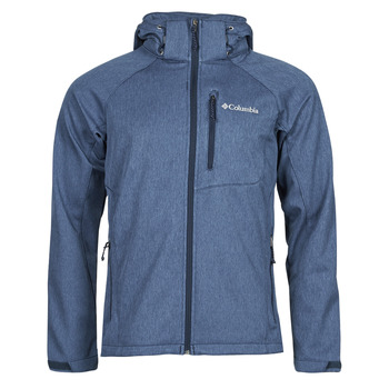 Oblečenie Muži Bundy  Columbia CASCADE RIDGE II SOFTSHELL Námornícka modrá
