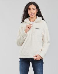 Oblečenie Ženy Flísové mikiny Columbia BUNDLE UP HOODED PULLOVER Biela