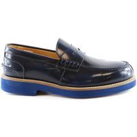 Topánky Muži Mokasíny Exton 2102 Modrá