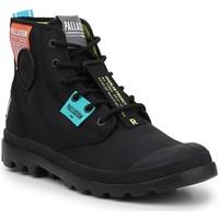 Topánky Členkové tenisky Palladium Manufacture Lite OVB Neon U 77082-008 black