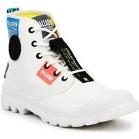Topánky Členkové tenisky Palladium Manufacture Lite OVB Neon U 77082-116 white