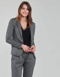 Oblečenie Ženy Saká a blejzre Les Petites Bombes ANNE Šedá / Antracitová