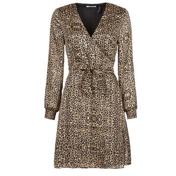 Oblečenie Ženy Krátke šaty Les Petites Bombes CECILIE Leopard