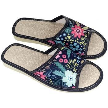 Topánky Ženy Papuče John-C Dámske tmavo-modré papuče MENNA tmavomodrá