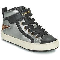 Topánky Dievčatá Členkové tenisky Geox KALISPERA Strieborná