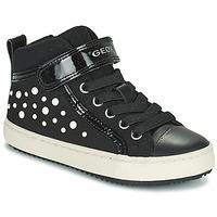 Topánky Dievčatá Členkové tenisky Geox KALISPERA Čierna