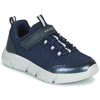 Topánky Dievčatá Nízke tenisky Geox ARIL Modrá