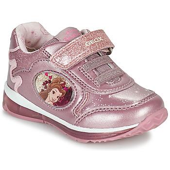 Topánky Dievčatá Nízke tenisky Geox TODO Ružová