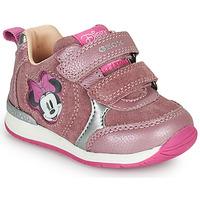 Topánky Dievčatá Nízke tenisky Geox RISHO Ružová