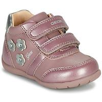 Topánky Dievčatá Nízke tenisky Geox ELTHAN Ružová