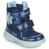Topánky Dievčatá Snehule  Geox SVEGGEN ABX Námornícka modrá