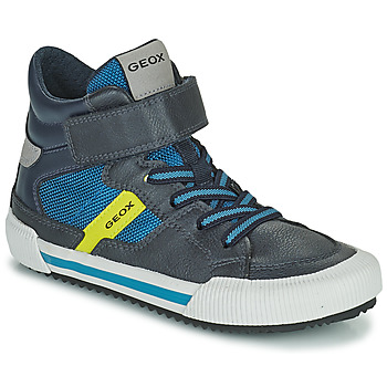 Topánky Chlapci Členkové tenisky Geox ALONISSO Modrá