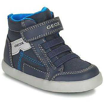 Topánky Chlapci Členkové tenisky Geox GISLI Námornícka modrá