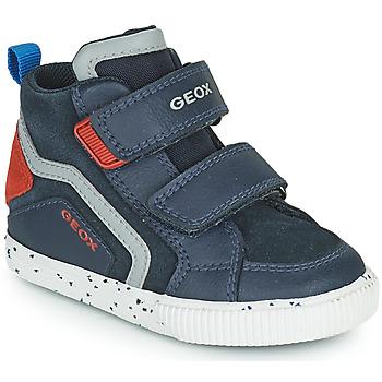 Topánky Chlapci Členkové tenisky Geox KILWI Námornícka modrá