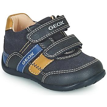 Topánky Chlapci Nízke tenisky Geox ELTHAN Námornícka modrá