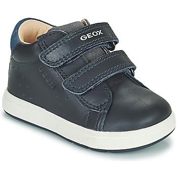 Topánky Chlapci Nízke tenisky Geox BIGLIA Námornícka modrá