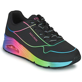 Topánky Ženy Nízke tenisky Skechers UNO Čierna / Viacfarebná