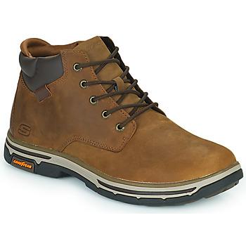Topánky Muži Polokozačky Skechers SEGMENT 2.0 Hnedá