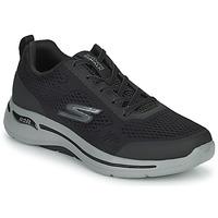 Topánky Muži Nízke tenisky Skechers GO WALK ARCH FIT Čierna