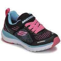 Topánky Dievčatá Nízke tenisky Skechers ULTRA GROOVE Čierna / Ružová / Modrá
