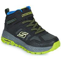 Topánky Chlapci Členkové tenisky Skechers FUSE TREAD Čierna / Žltá