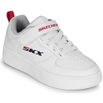 Topánky Deti Nízke tenisky Skechers SPORT COURT 92 Biela