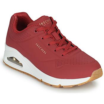 Topánky Ženy Nízke tenisky Skechers UNO STAND ON AIR Červená