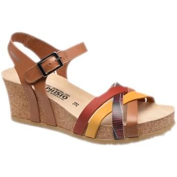 Topánky Ženy Sandále Mephisto MEPHLANNYcamel marrone