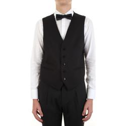 Oblečenie Muži Spoločenské vesty k oblekom Manuel Ritz 3030W9077-213029 Nero