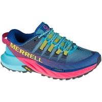 Topánky Ženy Nízke tenisky Merrell Agility Peak 4 Trail Modrá, Belasá, Ružová
