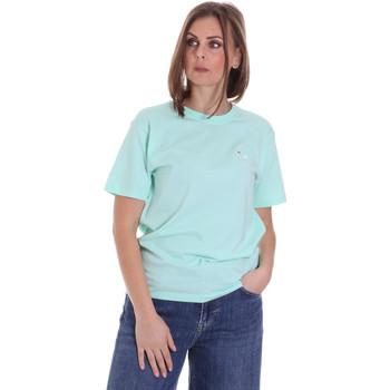 Oblečenie Ženy Tričká s krátkym rukávom Fila 687469 Zelená