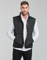 Oblečenie Muži Vyteplené bundy Calvin Klein Jeans PADDED VEST Čierna