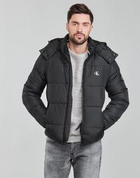 Oblečenie Muži Vyteplené bundy Calvin Klein Jeans ESSENTIALS NON DOWN JACKET Čierna