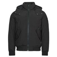 Oblečenie Muži Parky Calvin Klein Jeans SHERPA LINED SHORT JACKET Čierna
