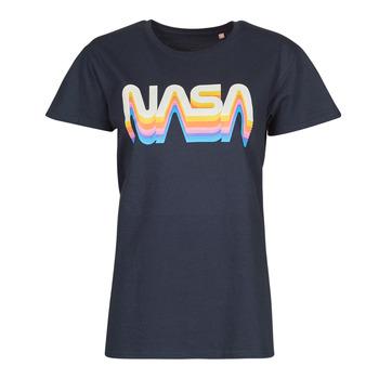 Oblečenie Tričká s krátkym rukávom Yurban ORAIN Námornícka modrá