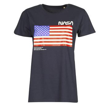 Oblečenie Tričká s krátkym rukávom Yurban ONASA Námornícka modrá