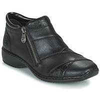 Topánky Ženy Polokozačky Rieker SALOMA Námornícka modrá