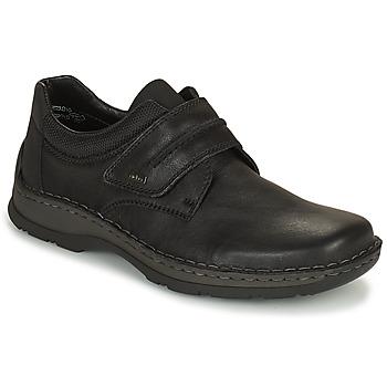 Topánky Muži Derbie Rieker EARNA Čierna