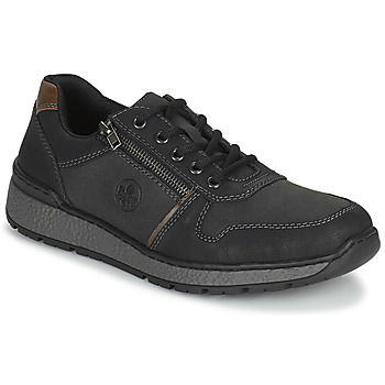 Topánky Muži Derbie Rieker FOLLON Čierna
