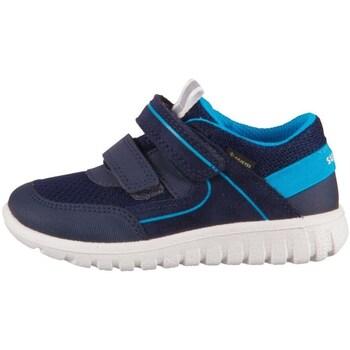 Topánky Deti Nízke tenisky Superfit Sport 7 Mini Modrá, Tmavomodrá