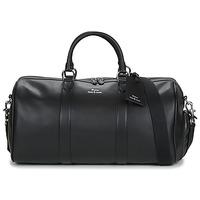 Tašky Muži Cestovné tašky Polo Ralph Lauren DUFFLE DUFFLE SMOOTH LEATHER Čierna