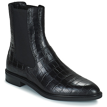Topánky Ženy Polokozačky Vagabond Shoemakers FRANCES Čierna