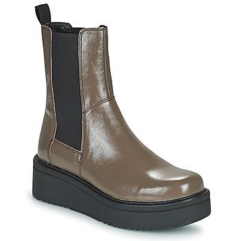 Topánky Ženy Polokozačky Vagabond Shoemakers TARA Hnedá