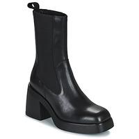 Topánky Ženy Čižmičky Vagabond Shoemakers BROOKE Čierna