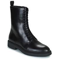 Topánky Ženy Polokozačky Vagabond Shoemakers ALEX W Čierna