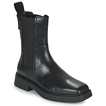 Topánky Ženy Polokozačky Vagabond Shoemakers JILLIAN Čierna