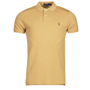 Oblečenie Muži Polokošele s krátkym rukávom Polo Ralph Lauren PETRINA Ťavia hnedá
