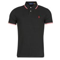 Oblečenie Muži Polokošele s krátkym rukávom Polo Ralph Lauren CALMIRA Čierna