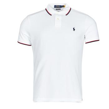 Oblečenie Muži Polokošele s krátkym rukávom Polo Ralph Lauren CALMIRA Biela